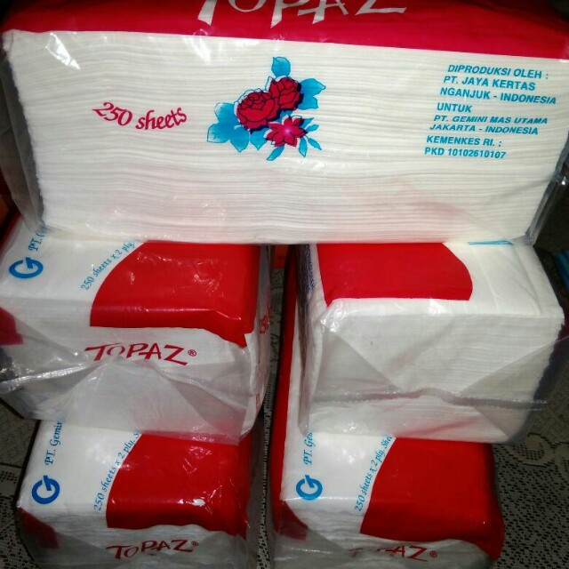 Tissue wajah stock limited