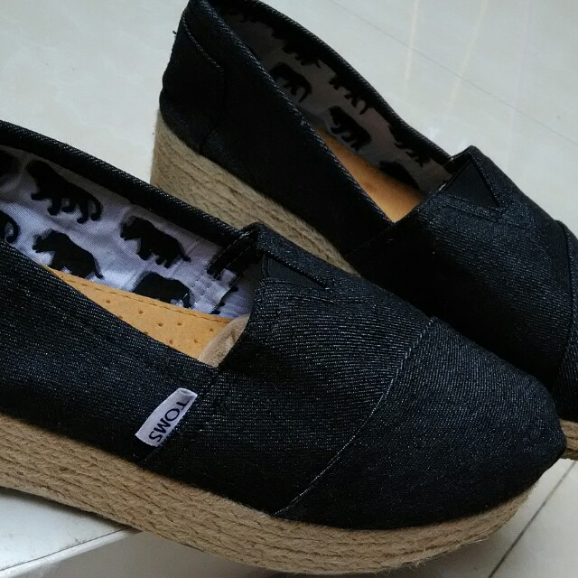 TOMS wedges jeans sneakers (BIG Size)