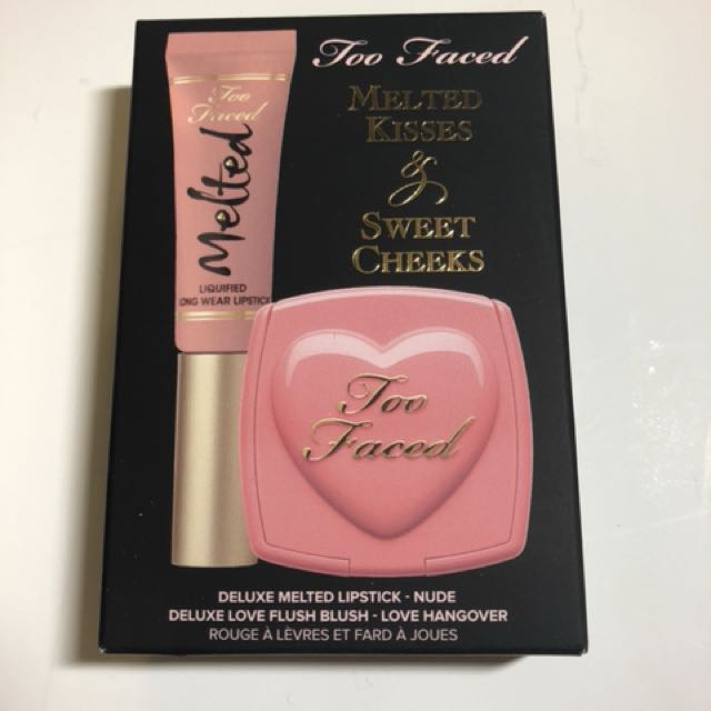 Too Faced Melted Kisses & Sweet Cheeks Nude