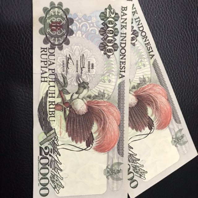 Uang kertas pecahan 20.000