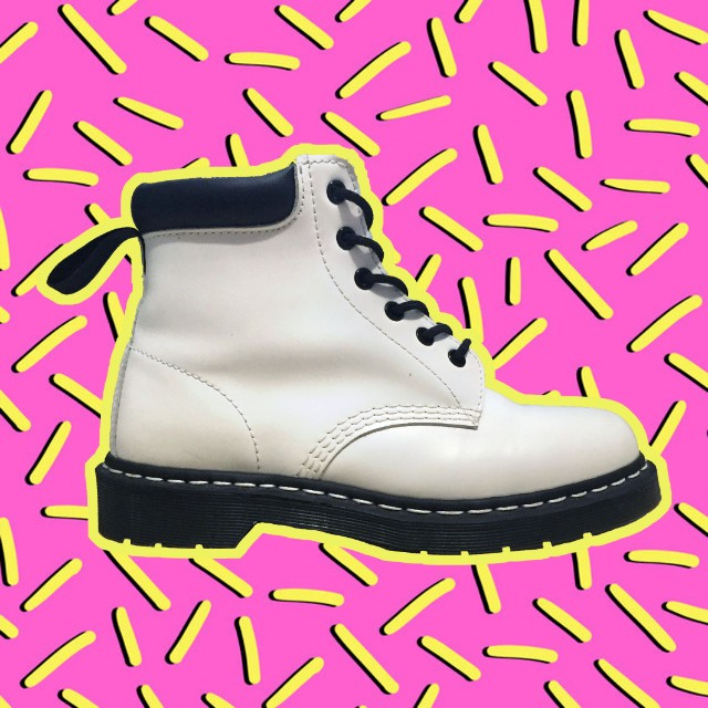 White Smooth 939 Doc Martens