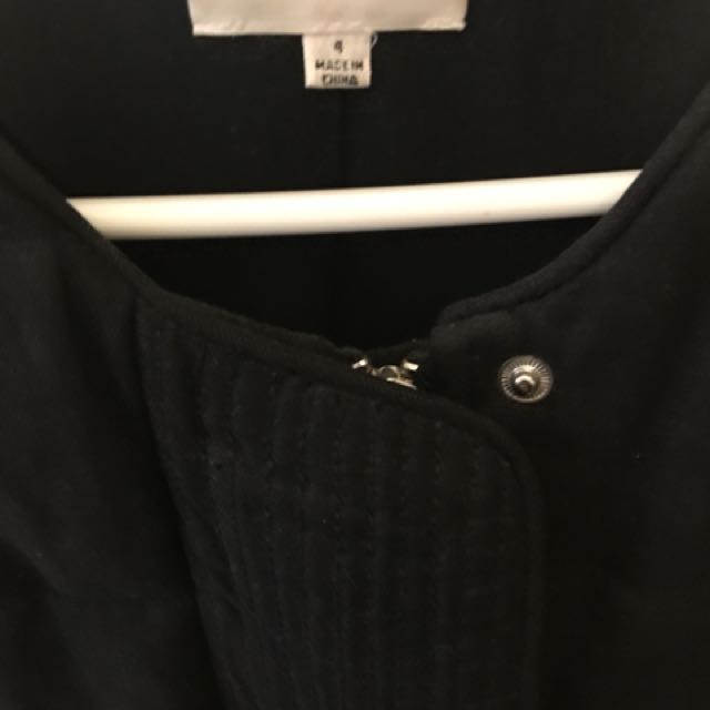 Wilfred jacket size 4 spring  missing black belt