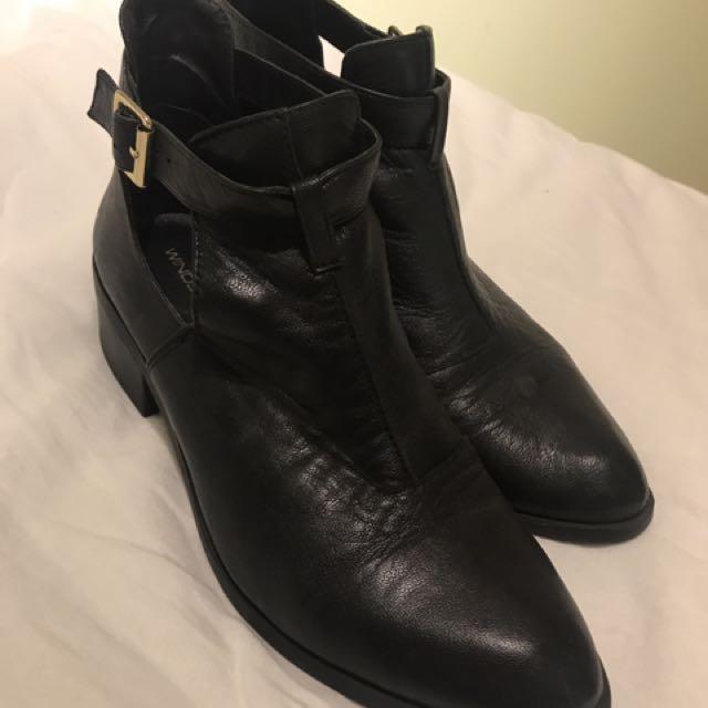 "Windsor Smith ""Rowina"" Black Boot"
