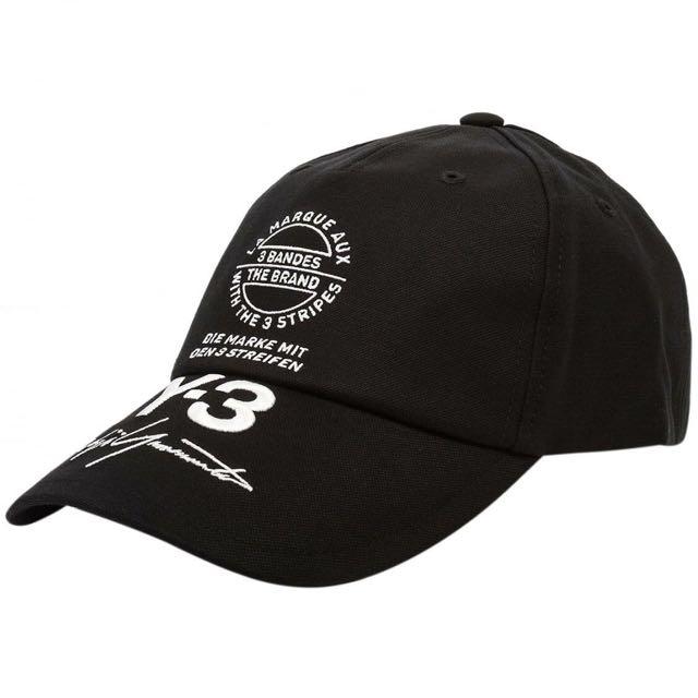 Y-3 刺繡街頭棒球帽