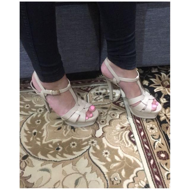 YSL heels.