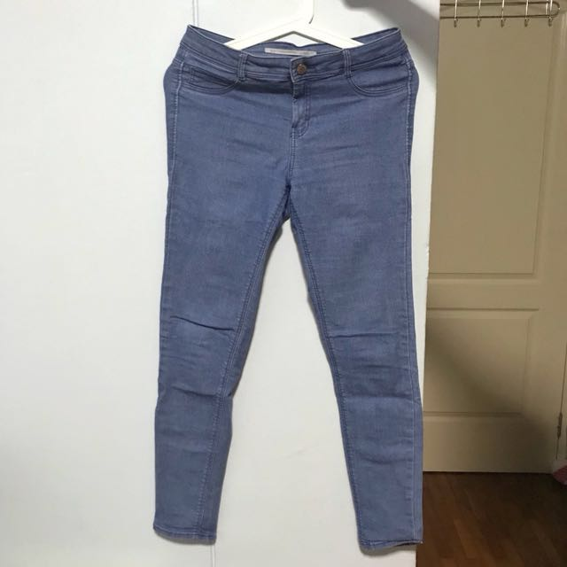 b42b61dc Zara High Waist Stretch Jeans, Women's Fashion, Clothes, Pants ...
