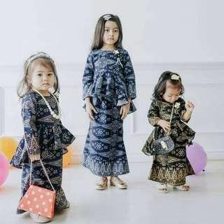 Baju Kurung Budak Songket