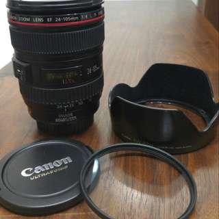 鏡頭 - Canon EF 24-105mm/4L IS USM