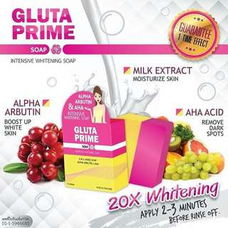 Gluta Prime Soap (Authentic)