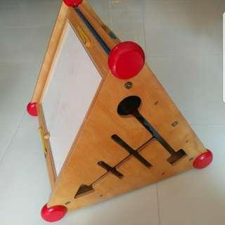 木製兒童教育 玩具, 原價差不多五百元, 優質實木質料
