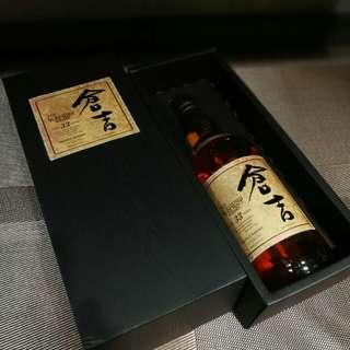 現貨日本威士忌  倉吉33年