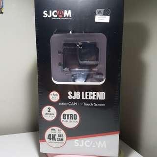 BNIB SJ6 Series Legend Black Dual Screen Action Camera (Touch Screen)