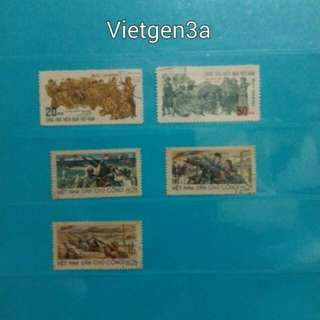 1 set of Vietnam stamps