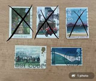 UK Stamps | Travel series