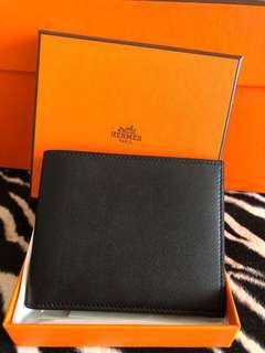 Hermes Citizen Twill Compact Wallet