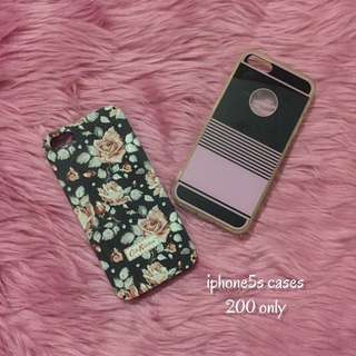 iphone5s cases (10/10 condition and get this 2 cases for only 200)