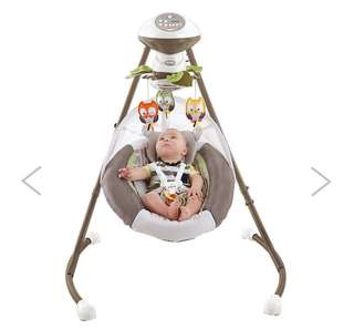 Baby swing (electric)