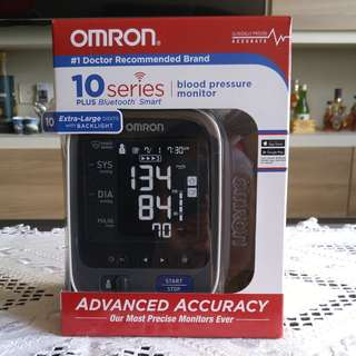 BN Omron 10 Series Wireless Blood Pressure Monitor with Bluetooth
