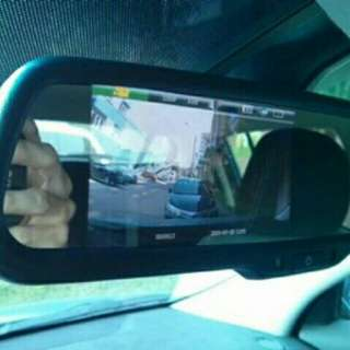 Dash camera rierview