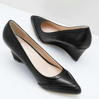 Krara Wedges Bymay BLACK