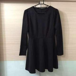 [特價免運]近新黑色顯瘦洋裝