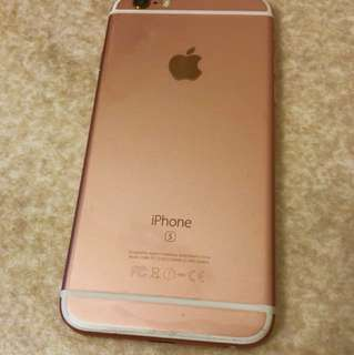 iPhone 6s 64 GB Rose Gold (in Gd condition)