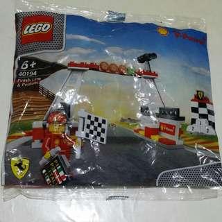 Original LEGO Finish Line and Podium