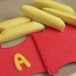 不織布材料包 - 薯條