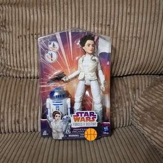 Hasbro Star Wars Firces of Destiny Princess Leia Organa R2-D2 Dolls