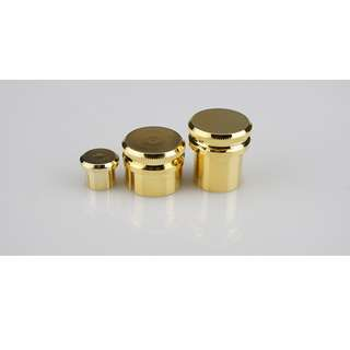 Gold Plated Copper RCA / XLR Dust Caps