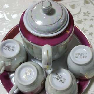 Chinese Tea Set for Wedding