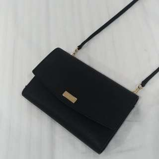 Auth Kate Spade Leather Cross body bag