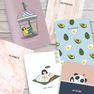 Assorted Monthly Planners