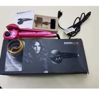hair curl Babyliss perfect
