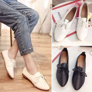 2018 spring and summer casual Harajuku wind with a single shoe retro shoes