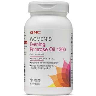 GNC WOMEN'S EVENING PRIMROSE OIL 1300 90 SOFTGELS