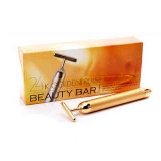Beauty Bar 24K黃金電動按摩美人棒