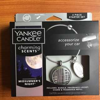 Yankee candle car scent