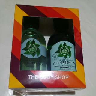 The Body Shop Shower Gel and Shampoo