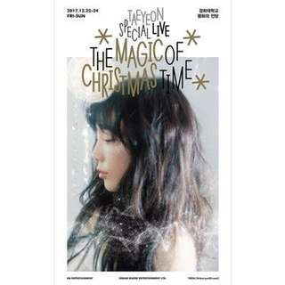 [PREORDER] Taeyeon Special Live-The Magic of Christmas Time