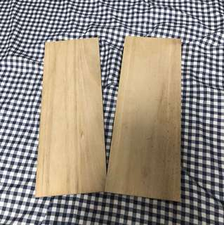 Plank Wood x 2