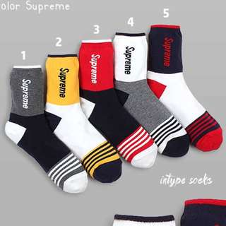 Supreme Socks