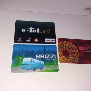Kartu etoll brizzi dd card