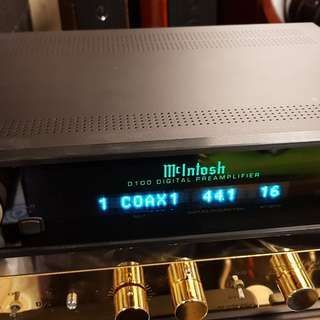 McIntosh D100 digital preamp