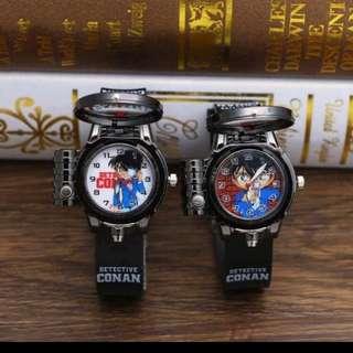 限量名偵探柯南瞄準手錶