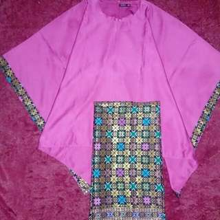 Set kebaya modern (violet)
