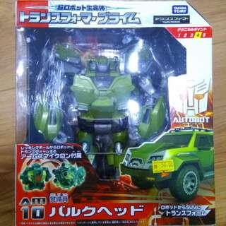 Transformers Takara Tomy Bulkhead AM10 Toy