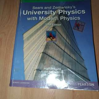 University Physics by Sears and Zemansky 13th editio