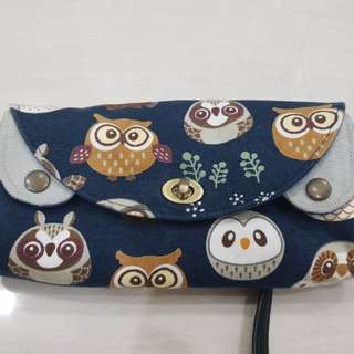 Handmade clutch/wallet
