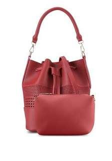 Something Borrowed Bucket Bag